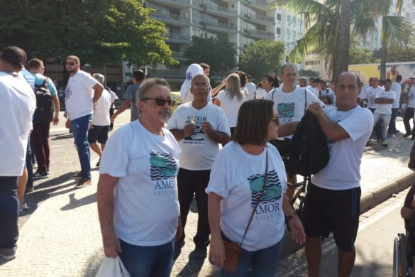 Amor-Exigente na 1ª Caminhada Rio Sem Drogas