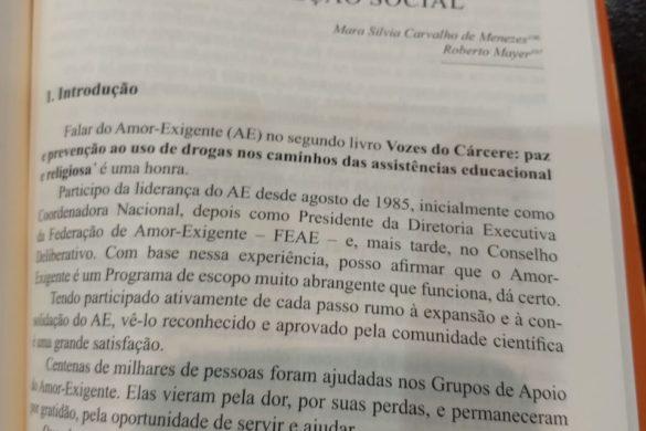 """Lançamento do Livro """"Vozes do Cárcere"""" Vol. 2"""