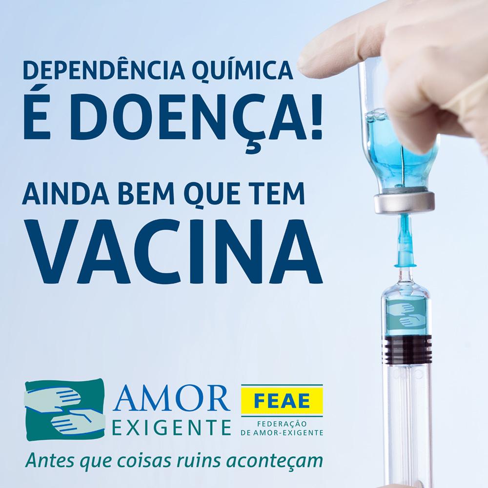 Vacina para Doença da Dependência Química