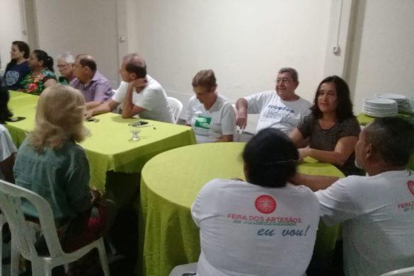 Confraternização em Palmas/TO