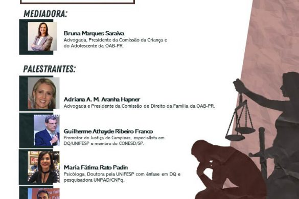 Amor-Exigente no III Congresso Sobre Drogas, da OAB Paraná