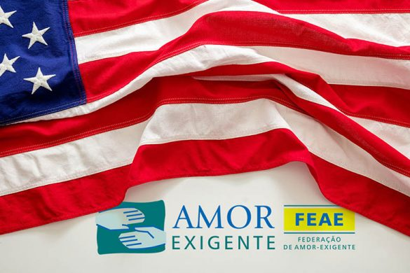 Primeiro grupo de Amor-Exigente nos Estados Unidos!